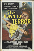 "Movie Posters:Thriller, Step Down to Terror (Universal, 1958). One Sheet (27"" X 41""). Thriller...."