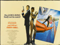 "Movie Posters:James Bond, A View to a Kill (United Artists, 1985). British Quad (30"" X 40"").James Bond...."