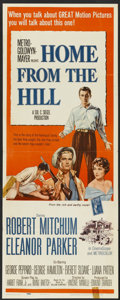 "Movie Posters:Drama, Home from the Hill (MGM, 1960). Insert (14"" X 36""). Drama...."