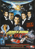"Movie Posters:James Bond, James Bond Film Festival (United Artists, 1998). German A1 (23"" X33""). James Bond...."
