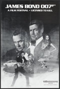 "Movie Posters:James Bond, James Bond Film Festival (MGM/UA, 1982). Film Festival Poster (18"" X 27""). James Bond...."