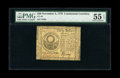 Colonial Notes:Continental Congress Issues, Continental Currency November 2, 1776 $30 PMG About Uncirculated 55EPQ....