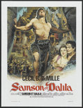 "Movie Posters:Adventure, Samson and Delilah (Paramount, R-1972). French Petite (17"" X22.5""). Adventure...."