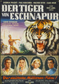 "Movie Posters:Adventure, Journey to the Lost City (American International, 1959). German A1(22"" X 32""). Adventure...."