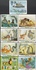 """Movie Posters:Animated, The Jungle Book (Buena Vista, 1967). Lobby Card Set of 9 (11"""" X14""""). Animated.... (Total: 9 Items)"""