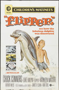"Movie Posters:Adventure, Flipper (MGM, 1963). One Sheet (27"" X 41""). Adventure...."