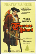 "Movie Posters:Adventure, Treasure Island (Buena Vista, R-1975). One Sheet (27"" X 41""). Adventure...."