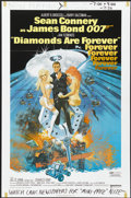 "Movie Posters:James Bond, Diamonds Are Forever (United Artists, 1971). One Sheet (27"" X 41""). James Bond...."