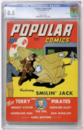 Golden Age (1938-1955):Cartoon Character, Popular Comics #83 File Copy (Dell, 1943) CGC VF+ 8.5 Off-whitepages....