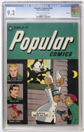 Golden Age (1938-1955):Miscellaneous, Popular Comics #118 File Copy (Dell, 1945) CGC NM- 9.2 Cream to off-white pages....
