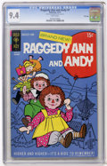 Bronze Age (1970-1979):Cartoon Character, Raggedy Ann and Andy #1 File Copy (Gold Key, 1971) CGC NM 9.4 Whitepages....