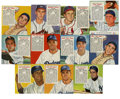 Baseball Collectibles:Photos, Red Man Baseball Group Lot of 62. Great group of Red Man tobacco cards. Includes 1952 Red Man #3A Berra, 17N Reese; 1953 Red...