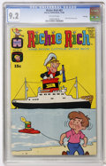 Silver Age (1956-1969):Humor, Richie Rich #87 File Copy (Harvey, 1969) CGC NM- 9.2 Off-white pages....