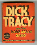 Platinum Age (1897-1937):Miscellaneous, Big Little Book #1163 Dick Tracy and the Boris Arson Gang (Whitman,1935) Condition: VF+....