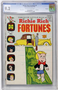 Richie Rich Fortunes #1 File Copy (Harvey, 1971) CGC NM- 9.2 Off-white to white pages