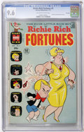 Bronze Age (1970-1979):Cartoon Character, Richie Rich Fortunes #5 File Copy (Harvey, 1972) CGC NM+ 9.6Off-white to white pages....