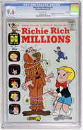Silver Age (1956-1969):Humor, Richie Rich Millions #6 File Copy (Harvey, 1963) CGC NM+ 9.6 Off-white pages....