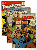 Silver Age (1956-1969):Adventure, Tomahawk Group (DC, 1958-60) Condition: Average FN.... (Total: 7 Comic Books)