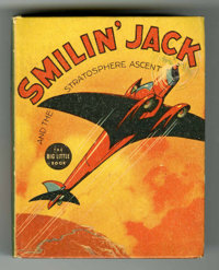 Big Little Book #1152 Smilin' Jack and the Stratosphere Ascent (Whitman, 1937) Condition: VF/NM