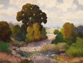 Texas:Early Texas Art - Impressionists, W. FREDERICK JARVIS (1898-1966). Creek Near Big Bend. Oil oncanvas. 28 x 36 inches (71.1 x 91.4 cm). Signed lower left...