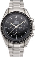 "Timepieces:Wristwatch, Omega Men's Stainless Steel Speedmaster ""Apollo XIl"" BraceletWristwatch, circa 1989. Case: 42 mm, round stainless steel c...(Total: 1 Item)"
