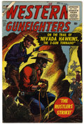 Silver Age (1956-1969):Western, Western Gunfighters #21 Mile High pedigree (Atlas, 1956) Condition: VF+....