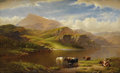 Fine Art - Painting, European:Modern  (1900 1949)  , WALTER J. WATSON (British 1879). Moel Siabod, North Wales,1905. Oil on canvas. 16-1/2 x 26 inches (41.9 x 66.0 cm). Sig...