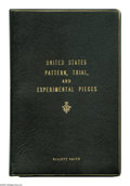 Books: , United States Pattern, Trial, and Experimental Pieces by Edgar H.Adams and William H. Woodin, published in 1913 by the Amer...