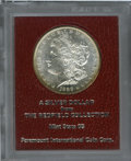 Additional Certified Coins: , 1888-S $1 Morgan Dollar MS65 Paramount International (MS62 Prooflike). Ex: Redfield. Honey-gold toning graces the borders,...