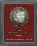 Additional Certified Coins: , 1889-S $1 Morgan Dollar MS65 Paramount International (MS62). Ex:Redfield. Rich plum and honey colors bound the brilliant ...