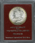 Additional Certified Coins: , 1889-S $1 Morgan Dollar MS65 Paramount International (MS63). Ex:Redfield. A sharply struck representative with unencumber...