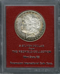 Additional Certified Coins: , 1892-CC $1 Morgan Dollar MS65 Paramount International (MS62). Ex: Redfield. Golden-brown and apple-green colors embrace th...