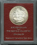 Additional Certified Coins: , 1892-CC $1 Morgan Dollar MS65 Paramount International (MS62). Ex:Redfield. Dusky apricot toning enriches the borders of t...