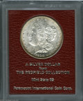 Additional Certified Coins: , 1900-S $1 Morgan Dollar MS65 Paramount International (MS62). Ex:Redfield. Powder-blue and russet-brown colors enrich the ...