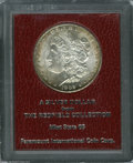 Additional Certified Coins: , 1902-S $1 Morgan Dollar MS65 Paramount International (MS62). Ex:Redfield. Light tan and apple-green toning hugs the borde...