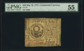 Colonial Notes:Continental Congress Issues, Continental Currency May 10, 1775 $30 PMG About Uncirculated 55.....