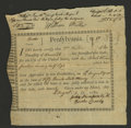 Colonial Notes:Pennsylvania, Pennsylvania Aug. 19, 1780 Extremely Fine. This is an AndersonPA-2. It is a promissory note for the use of a horse by the U...