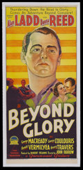 "Movie Posters:Drama, Beyond Glory (Paramount, 1948). Australian Daybill (13"" X 30""). Drama. Starring Alan Ladd, Donna Reed, George Macready, Geor..."