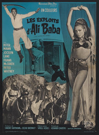 "The Sword of Ali Baba (Universal, 1965). French Petite (23.5"" X 31.5""). Adventure. Starring Peter Mann, Jocely..."