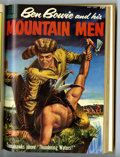 Silver Age (1956-1969):Adventure, Ben Bowie and His Mountain Men #7-17 Bound Volume (Dell, 1956-59)....