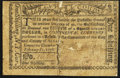 Colonial Notes:New York, New York City and County of Albany February 17, 1776 1 Shilling -$1/8 Good.. ...