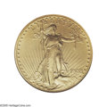 Proof Saint-Gaudens Double Eagles: , 1908 $20 Motto PR66 NGC. The second 1908 Proof double eagle that weoffer out of the Phillip Morse Collection exhibits a so...