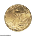 Saint-Gaudens Double Eagles: , 1913-S $20 MS66 PCGS. Ex: Browning Collection. This coin was previously offered in the Sotheby's / Stack's Dallas Bank Coll...
