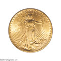Saint-Gaudens Double Eagles: , 1920-S $20 MS63 PCGS. This coin conforms more closely to what theliterature states should be expected of a 1920-S. The min...