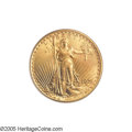 Saint-Gaudens Double Eagles: , 1921 $20 MS66 PCGS. Ex: Crawford. After the end of The Great War,there was a general deterioration of economic conditions ...