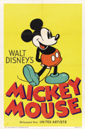 "Movie Posters:Animated, Mickey Mouse Stock Poster (United Artists, 1932-33). One Sheet (27"" X 41""). ..."