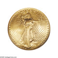 Saint-Gaudens Double Eagles: , 1927-S $20 MS66 NGC. As indicated in the previous lot on PhillipMorse's Superb Gem 1927-S double eagle, the higher Mint St...