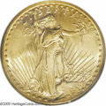 Saint-Gaudens Double Eagles: , 1927-S $20 MS64 PCGS. As previously noted, the '27-S is one of therarest issues in the Saint-Gaudens series of double eagl...