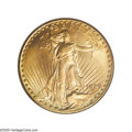 Saint-Gaudens Double Eagles: , 1929 $20 MS64 PCGS. The 1929 commences a run of rare issues thatcontinues to the end of the Saint-Gaudens twenty dollar se...