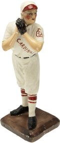 Baseball Collectibles:Others, Vintage St. Louis Cardinals Ceramic Figurine. Fourteen-inch tallceramic figurine depicts a player from the St. Louis Cardi...